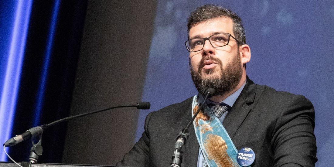 Jérémie Mosnier, nouveau président de l'Association ouvrière des Compagnons du Devoir et du Tour de France