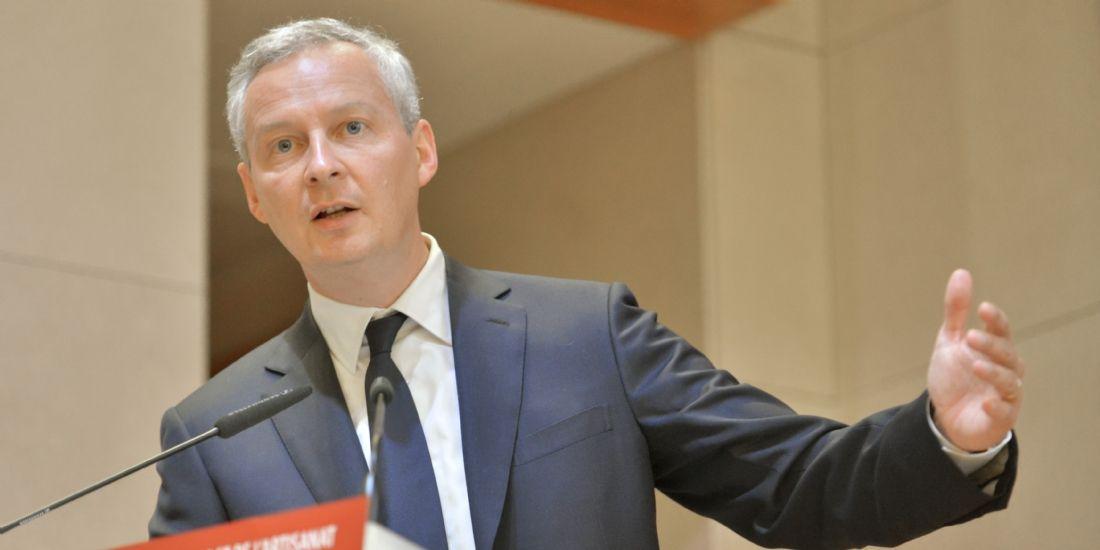 Bruno Le Maire, ministre de l'Économie et des Finances