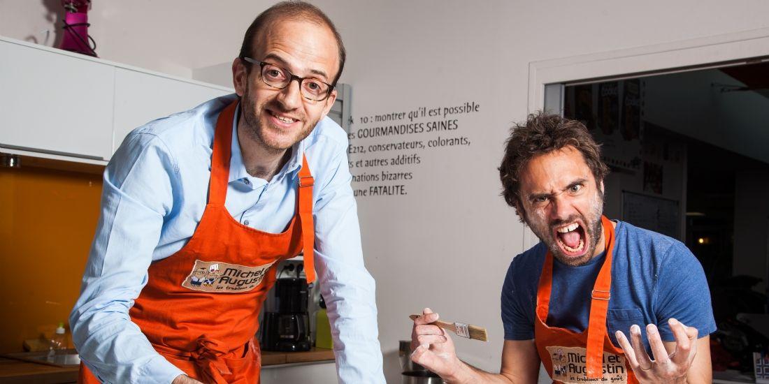 Michel de Rovira et Augustin Paluel, cofondateurs de Michel & Augustin
