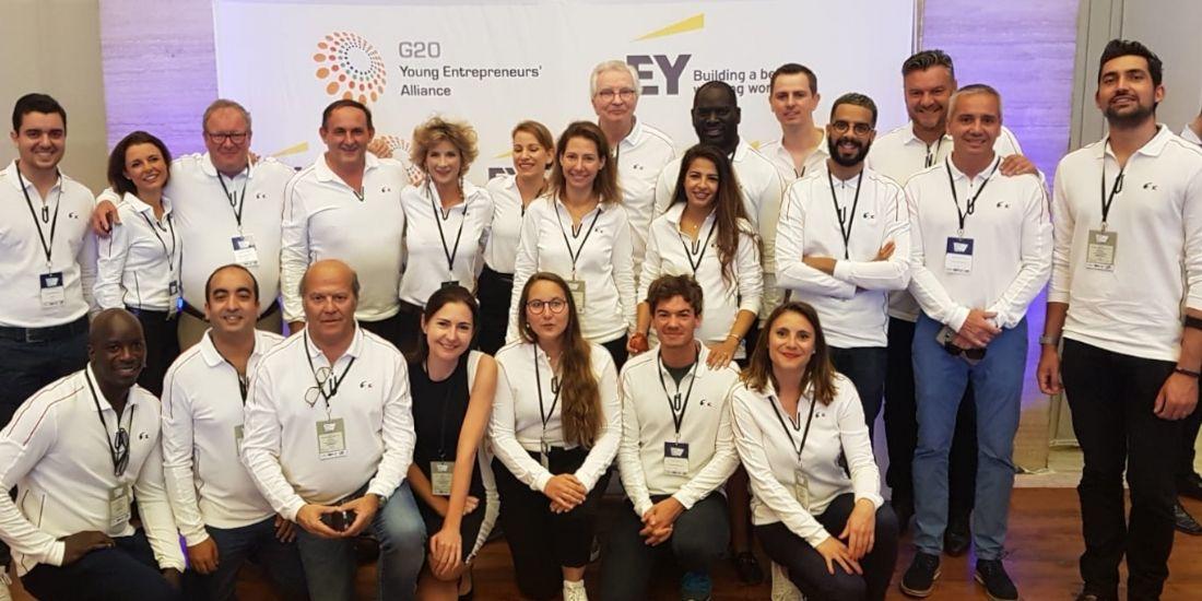 La délégation française au G20 YEA à Buenos Aires