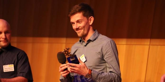 [#LesPros2019] Benjamin Boudet et Geoffrey Lion, les ébénistes 2.0, décrochent l'Or dans la catégorie Innovation