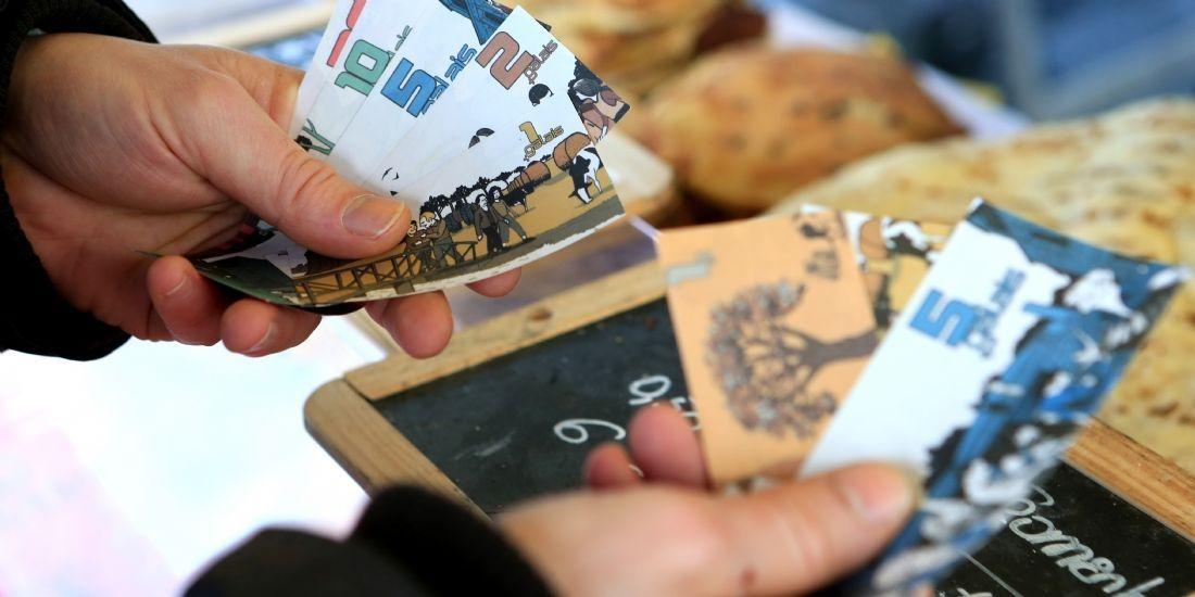 A Ploërmel, on paie les commerçants en Galais, la monnaie locale