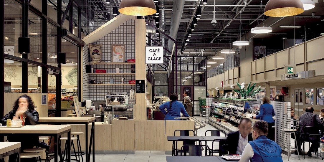 Le 'eat-in-store', une tendance en pleine ascension