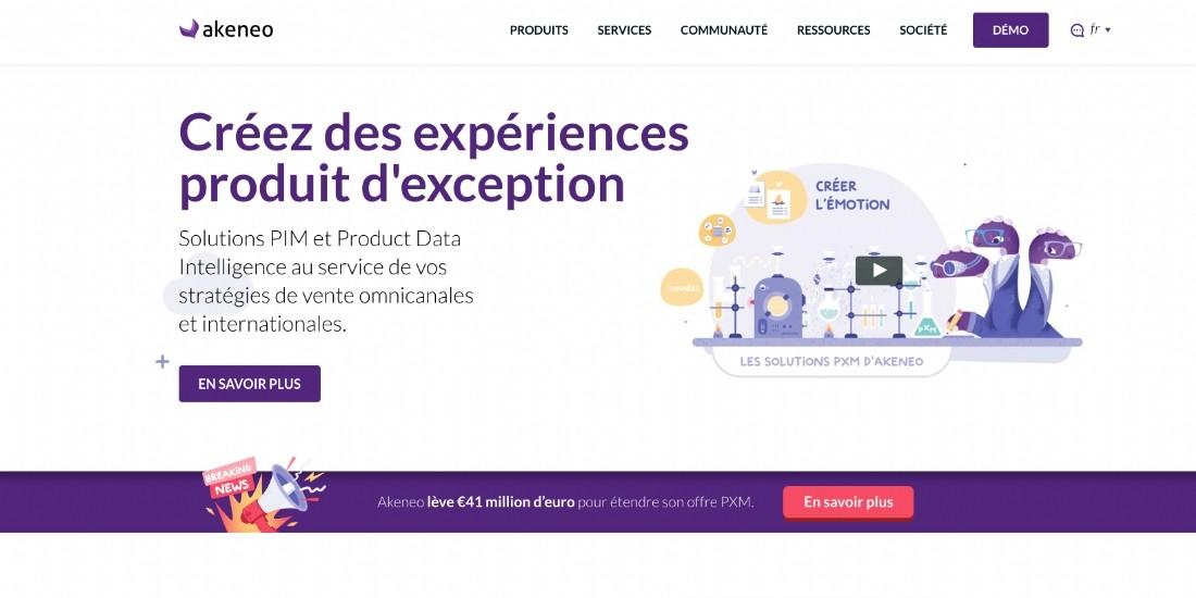Akeneo lève 41 millions d'euros pour se développer dans la gestion de l'expérience produit