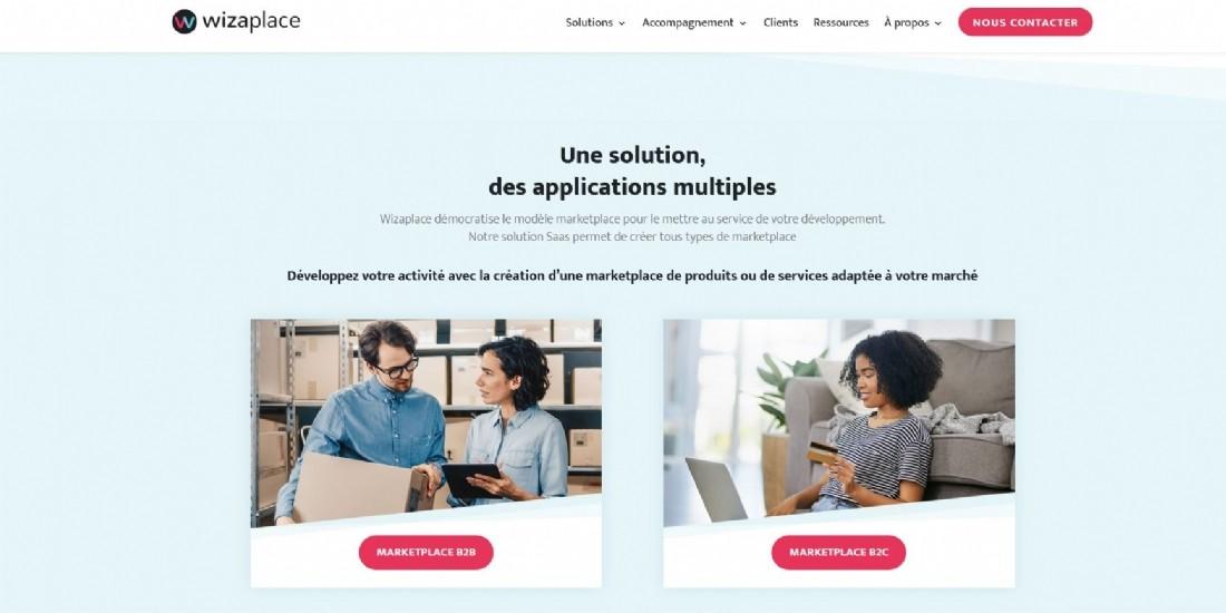 Wizaplace lève 13 millions d'euros pour devenir le leader de la création de marketplaces B to B