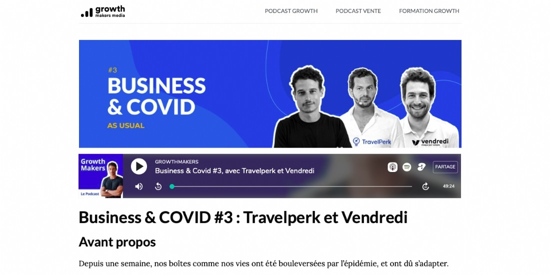 [Podcast] GrowthMakers, le meilleur des start-up
