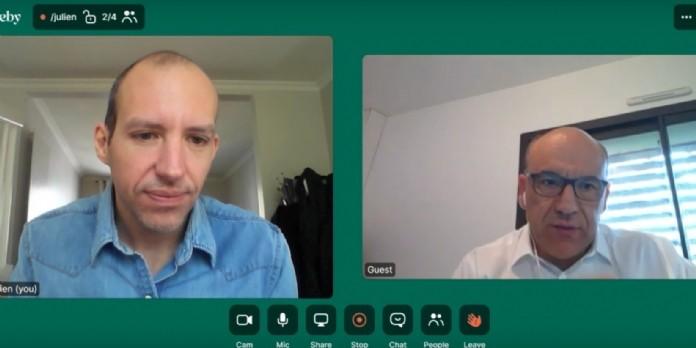 [Vidéo] Christophe Carniel (Vogo) : 'Notre appli analyse les résultats d'un nouveau test salivaire Covid-19 par la lecture colorimétrique'