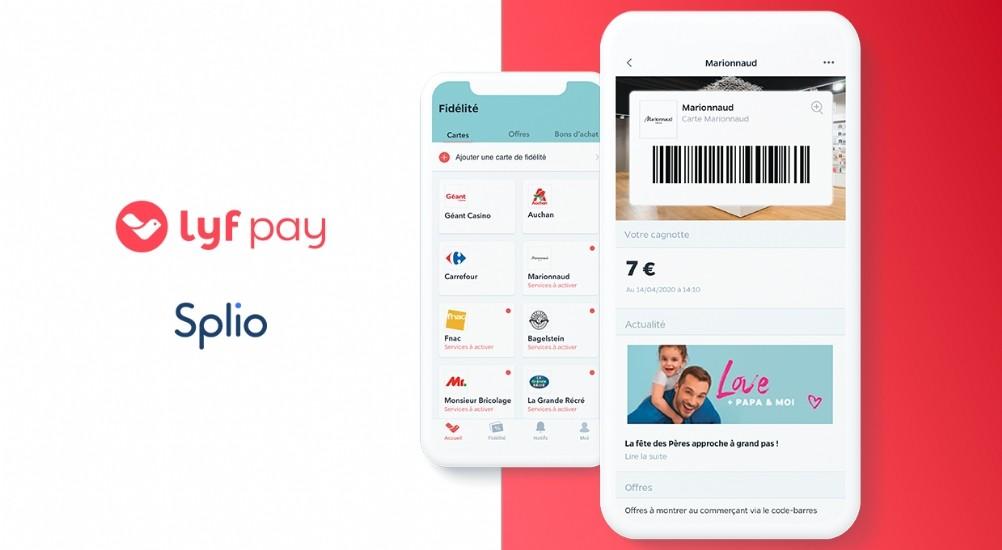 Lyf Pay dématérialise les programmes de fidélisation sur mobile