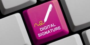 La signature électronique est utilisée par les entreprises pour sécuriser les factures.