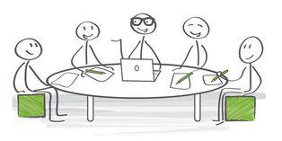 Le chef d'entreprise et des membres élus par un collège désignatif composent le CHSCT.