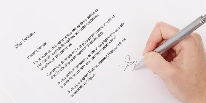 Comment rédiger une lettre de démission ?