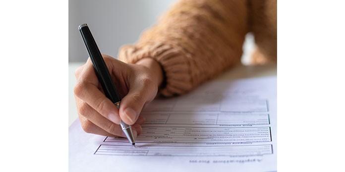 Remplissage du formulaire m3