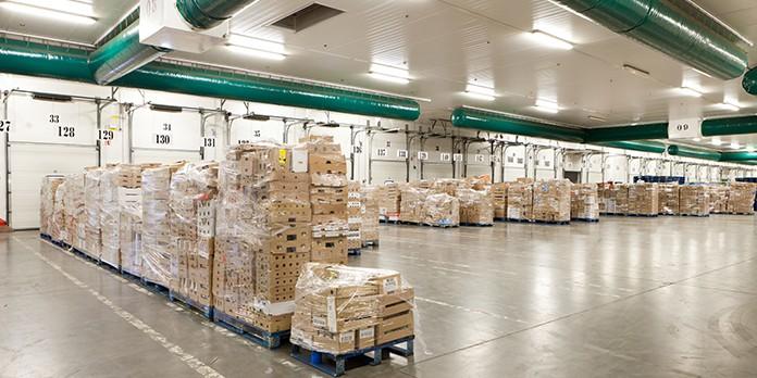 La centrale d'achat regroupe tous les achats de produits