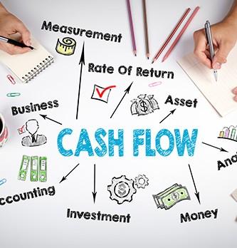 Quels sont les éléments qui constituent le cash-flow d'une société ?